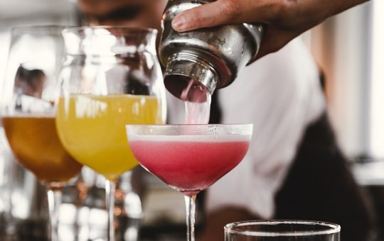 The most popular cocktails